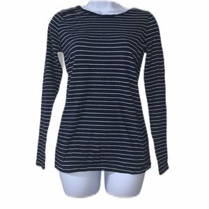 The Limited Horizontal Stripe Long Sleeve Top